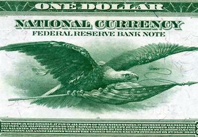 HGR FRIDAY 1918 $1 FRBN Minneapolis ((Green Eagle)) Appears CH-GEM UNCIRCULATED