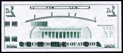 HGR FRIDAY 1970's RARE Giori Test Note BACK ((WANTED)) SUPERB GEM UNCIRCULATED