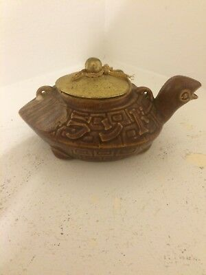 Antique Chinese Japanese Teapot