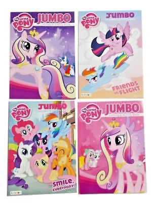 My Little Pony Coloring Book Friendship Is Magic MLP Activity Books Set Of 4 NEW