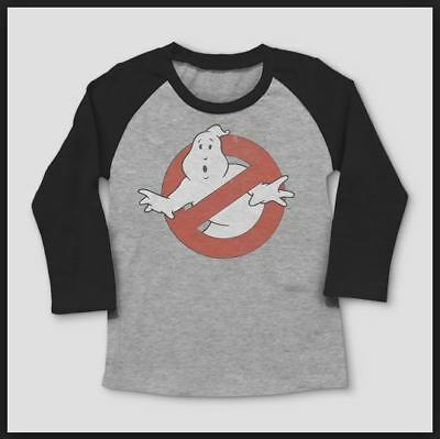 5T #a855 Toddler Boys/' Ghostbusters Logo Short Sleeve T-Shirt Gray 12M