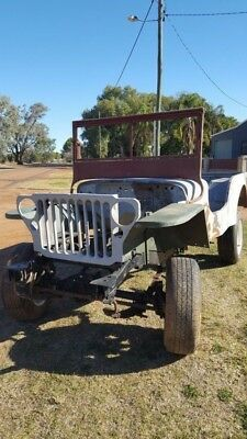 WW2 Willys Jeep Unfinished Project Rare Parts Ford Army Military