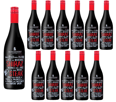 Rosemount Meal Matcher Shiraz Red Wine 2015 (12 x750ml) RRP$180