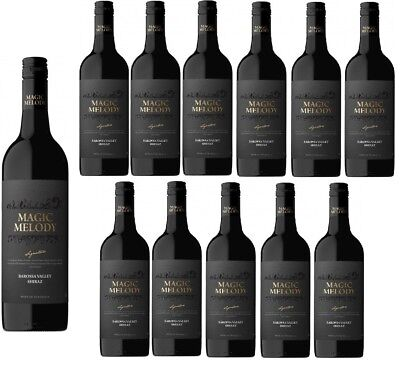 Magic Melody Barossa Valley Shiraz Red Wine 2015 (12x750ml) RRP$379