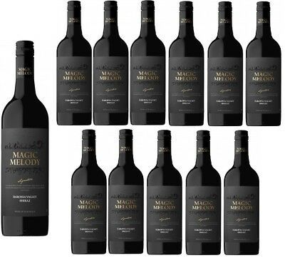 RRP$379! Magic Melody Barossa Valley Shiraz Red Wine 2015 (12x750ml) Free Ship!