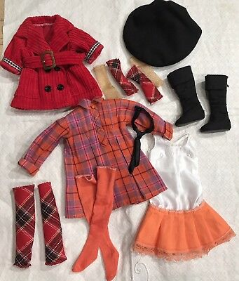 """HTF Tonner Ellowyne Wilde Doll """"Plaid to Meet You"""" Outfit"""