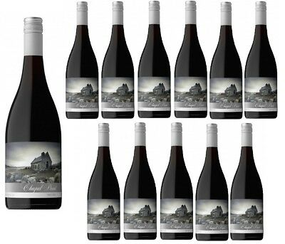 RRP$279! Chapel Point Hawkes Bay NZ Pinot Noir Red Wine 2016 (12x750ml)