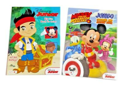 Mickey And The Roadster Racers Disney Junior Coloring Book Activity Books Set