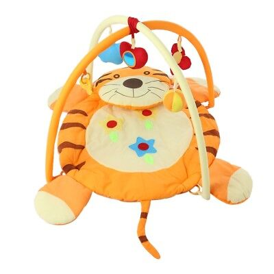 Baby Cute Soft Play Mat Fitness Crawling Toy Tiger Pattern Blanket