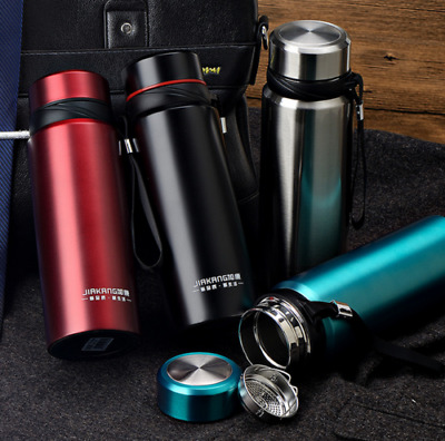 25oz/750ml Vacuum Flask Stainless Steel Thermos Bottle - Portable Insulated US
