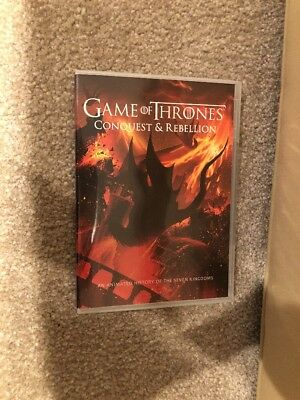 Game Of Thornes Conquest & Rebellion DVD Bonus Disc ( 1 Disc )