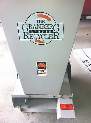 (MASPORT) Granberg Garden Recycler -Mulcher / Chipper/Shredder