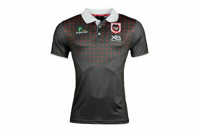 St George Illawarra Dragons NRL 2018 X Blades Players Polo Shirt Size S-5XL!