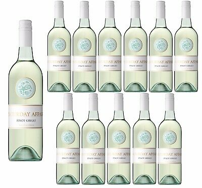 Saturday Affair Pinot Grigio 2017 White Wine (12x750ml) RRP$199
