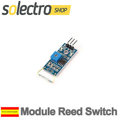 Modulo interruptor Reed Sensor magnetico de laminas switch MagSwitch Arduino S45