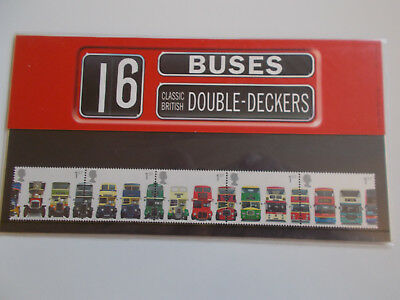 2001 Royal Mail Presentation Pack Double-Decker Buses No 323 Cat £10 + FREE p&p