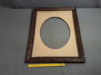 Antique Large Frame Wood Carved Vintage French Antique Frame