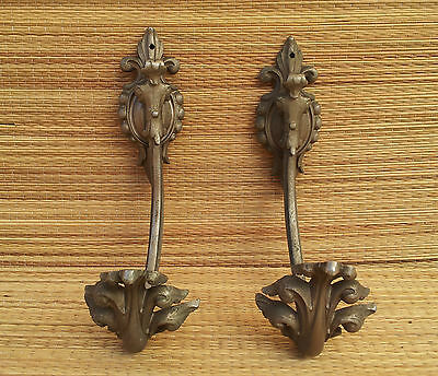 Antique towel hook, coat rack antique coffee house art popular, french antique