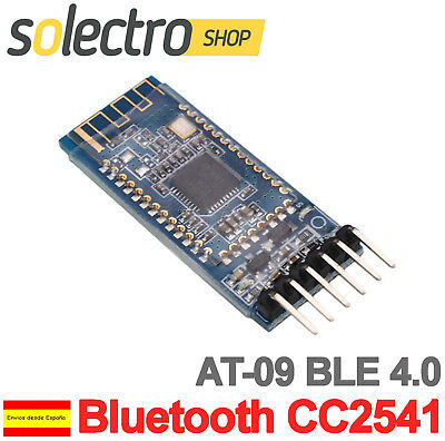 Modulo inalambrico Arduino AT-09  Bluetooth 4.0 CC2541 Android IOS BLE W0078