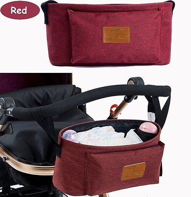 Stroller Bag Diaper Bag Mommy Bag Nappy Bag Waterproof Multi-Function for Baby