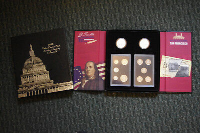 2006 US Mint American Legacy Collection Includes 2 Silver Dollars, Proof Set