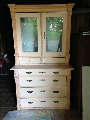 Vintage Country Hutch