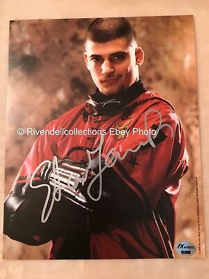 HARRY POTTER STAR STANISLAV YANEVSKI - VIKTOR KRUM AUTHENTIC SIGNED PHOTO 8x10