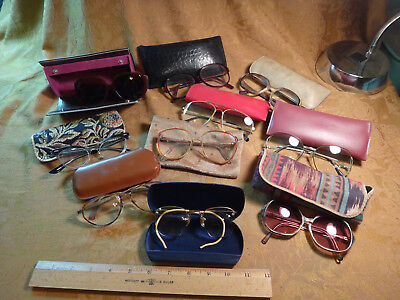 Vintage Lot Of Eyeglasses and Holders - Make Offer - Free S&H USA