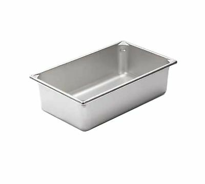 """6"""" Deep Full Size Super Pan II Stainless Steel Steam Table Pans (12-0283) Cat..."""