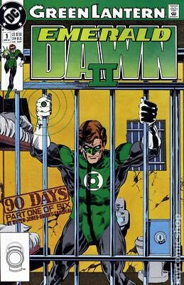 Green Lantern: Emerald Dawn II #1 April 1991 - Almost Perfect Condition!
