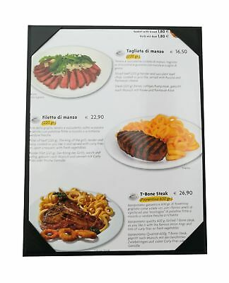 "10 Pcs of Restaurant Menu Covers Holders 8.5"" X 11"" InchesSingle ViewSold By ..."