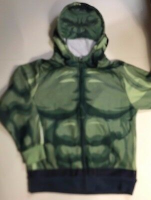 Marvel  AVENGERS Incredible HULK HOODIE Boys M (5/6)  L (7)  XL (7x)  Zip Jacket