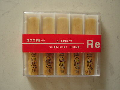 """REED"" to suit Clarinet 1.5 Strength, Medium Grade ""Flying goose"""