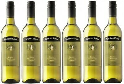 RRP129! Barossa Lambert Estate Pristine Unwooded Chardonnay 2011 (6x750ml)