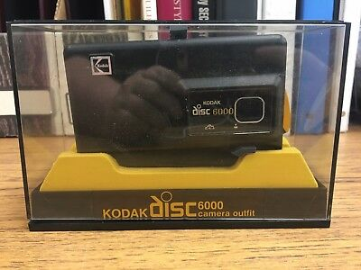 Vintage, Lightly Used Kodak Disc 6000 Camera Mint in Original Box