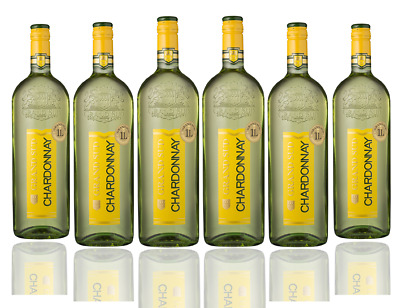Gran Sud French Chardonnay White Wine 2014 (6x1L) Free Shipping! RRP$129