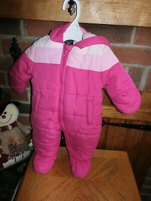 Girls Snowsuit by Faded Glory Size 0-3 Months