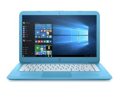 HP Stream 14-ax000na 14-inch HD Laptop 4GB RAM, 32GB eMMC Aqua Blue #124248