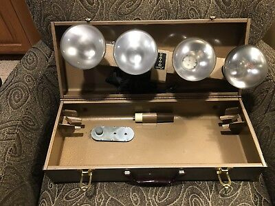 Logan Mini Bar Photography Lamp Lights Working With Case And Accessories