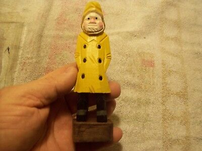 Vintage Woodland Collection Seaman Hand Carved Figure #5