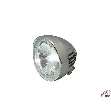 Lights Front Headlight With Cap- Chrome-872373