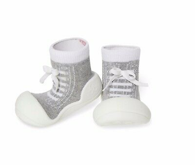 Attipas Grey Sneaker Toddler Shoes - Brand New in Box - Large
