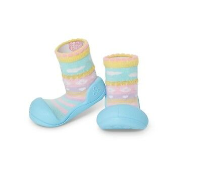 Attipas Attibebe Blue Toddler Shoes - **Free Express Post** Brand New L