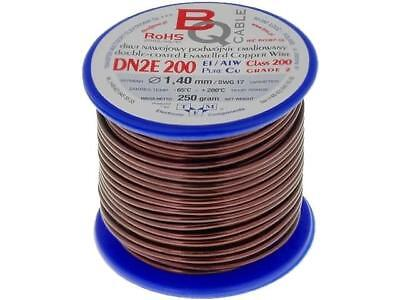 DN2E1.40/0.25 Coil wire double coated enamelled 1.4mm 0,25kg BQ CABLE