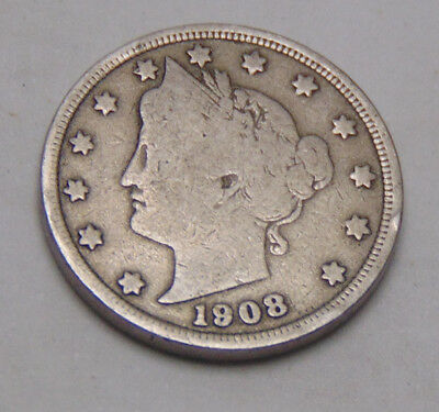 1908 Liberty V Nickel (FREE SHIPPING OFFER) C