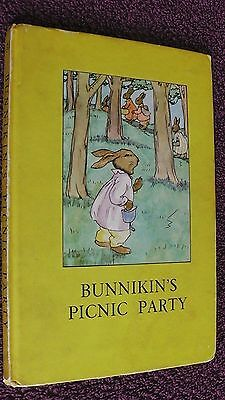 Ladybird Book, Bunnikin's Picnic Party, 2/6d, Series 401
