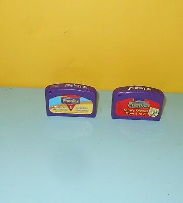 Leap Frog LeapPad LEAP'S FRIENDS FROM A to Z  & Phonics 1 - CARTRIDGES ONLY