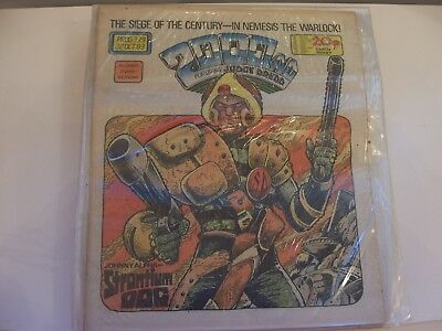 2000AD Featuring Judge Dredd No 339 1983 Excellent Condition