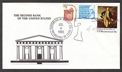 United States  1985  Cover, 2nd Bank of the US.