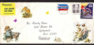 United States  1995  Cover sent to Australia.
